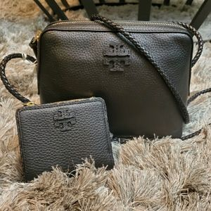 Tory Burch Taylor Camera Bag and Matching Wallet